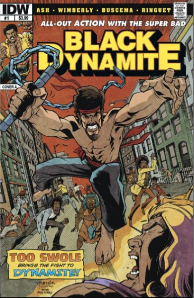 Black Dynamite Comic