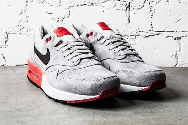 Air Max 1 Premium Grey - Red - 2